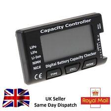 Battery Meter Checker CellMeter-7 Digital Capacity LiPo LiFe Li-ion NiMH Nicd