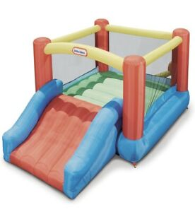 Little Tikes Jump 'n Slide Bouncer Ages 2-8 Years Old