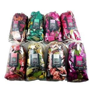 Pot Pourri 140G 10 Parfums Cannelle Eucalyptus Lavande Miel Pêche Vanille Rose