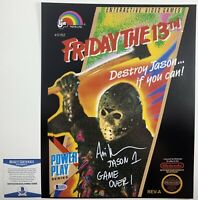 Ari Lehman Autographed Friday The 13th Jason Voorhees 11x14 Photo Signed Beckett