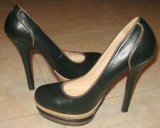 Fashion Dcollet Scarpe Donna Tacco Alto Stilettos 3303 NERO 36
