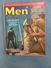 MEN True Adventure Men's Pulp/Adventure Magazine April 1958