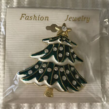 - Fashion Jewelry - Giftboxed Christmas Tree Pin - Brand New