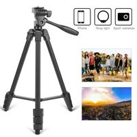 Zomei T90 Portable Tripod with Phone Clip and Bluetooth Remote Black