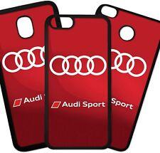 Carcasa De Movil Case Funda Movil De TPU Audi Coche Marca Logo Sport Motor Moda