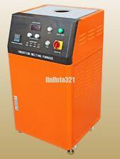 High-voltage Induction Gold Melting Furnace Gold melter Melting Machine 8KG