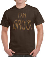 611 I am Groot mens t-shirt super hero comic cosplay funny new galaxy star new