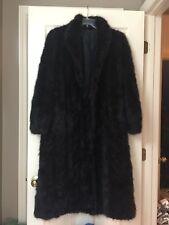 Vintage Full Length Mink?? Fur Coat Jacket Size M/L Fall Winter Women Ladies