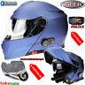Viper RSV171 Klapphelm Motorradhelm Doppelvisier Helm Mit Bluetooth Sonnenblende