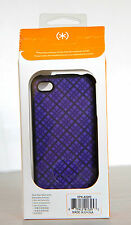 Speck Purple Argyle Fitted iPhone 4 4s cover