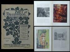 ART ET DECORATION 10 1903- ETIENNE DINET, PAUL JOUVE, LAVERRIERE MONOD
