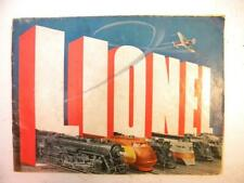 1938 Lionel Color Consumer Catalog   With Dear Dad Insert