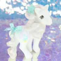 Vintage My Little Pony BRIDAL BEAUTY White Wedding Bride Doves Ring G1 MLP BB937