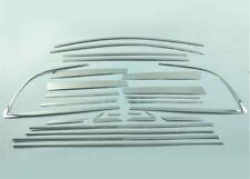 For Toyota Rav4 2009-13 24pcs Full Stainless Steel Window Protector Strip Trim