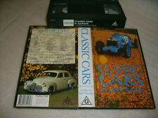 VHS *CLASSIC CARS IN AUSTRALIA* Polygram Video Issue - Over 30 Oz Owned Classics