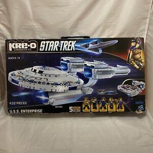 U.S.S. ENTERPRISE Star Trek KRE-O A3137 Building Construction Set - Open Box