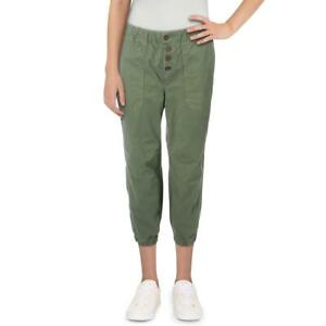 Free People Womens Jogger Pull-On Solid Jogger Jeans BHFO 8558