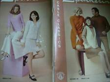 Spinnerin Cable Classics Knitting Book- Adult Styles- Dresses, Skirts, Cardigans