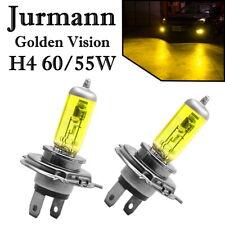 2x Jurmann H4 60/55W 12V Golden Vision Gelb Ersatz Scheinwerfer Halogen Lampe