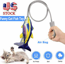 Funny Floppy Moving Fish Cat Toy Realistic Interactive Dancing Wiggle Catnip Toy