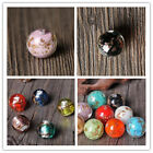 Fashion Round Sprinkle color European Lampwork Glass DIY Bead fit Charm Bracelet