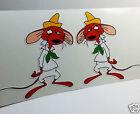 Slowpoke Rodriguez x 2 Vintage Style DECAL, Vinyl STICKER, rat rod, racing