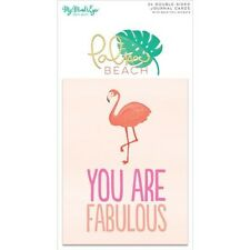 My Minds Eye Palm Beach Double-Sided Journal Cards - 228823