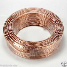 100ft 16AWG Enhanced Loud Oxygen-Free Copper Speaker Wire Cable