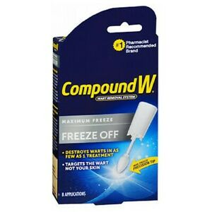 Compound W Freeze Off Wart Removal System 8 each