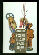 BOOK Polish Folk Art Culture history & funny stories POLAND ethnography naive