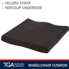 Secure GEL Foam Seat Cushion With Safety Strap for Wheelchairs and Chairs - 46
