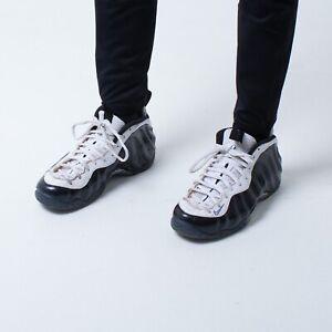 Nike Air Foamposite One Black/White Shoes   UK11