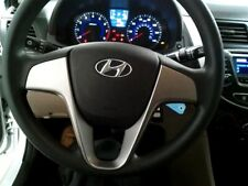 2012-2017 HYUNDAI ACCENT LEFT DRIVER STEERING WHEEL AIRBAG