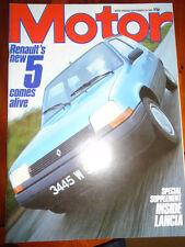 Motor 29/9/84 Saab Turbo 16S