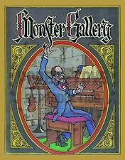 Reprint - 1973 - Monster Gallery Coloring Book - Troubador Press - Reprint