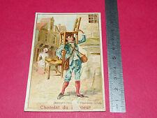 CHROMO 1890-1900 CHOCOLAT DU PLANTEUR Cie COLONIALE REMPAILLEUR CHAISES 1725