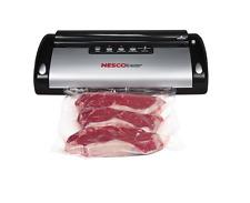 Nesco Food Vacuum Sealer Sealing Storage System with Bag Cutter Bags Starter Kit