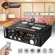 12V 600W Mini Bluetooth HiFi Stereo Verstärker Digital Audio Power Amplifier FM