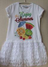 MONNALISA BABY GIRLS TROPICAL DRESS 2 YEARS
