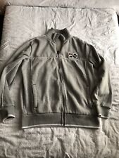 Mens Fila Grey Jacket Large Zip Front