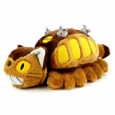 My Neighbor Totoro Cat Bus Plush Neko Bus Doll Stuffed Mascot Animals Figure