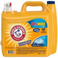 Arm and Hammer 2X Ultra Clean Burst Liquid Laundry Detergent, 210 Oz