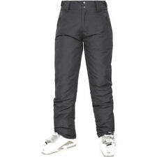 dc8189e101 Trespass Bezzy Mens Detachable Braces Waterproof Ski Pants BLK L