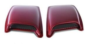 AVS for 98-03 Dodge Durango (Medium Scoop) Hood Scoop - Black - avs80002