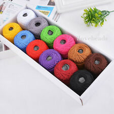 1Set 12pcs HOTSELL Sewing Cotton Threads Embroidery Floss Knitting Crochet