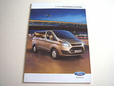 Ford . Tourneo . Tourneo Custom . September 2012 Sales Brochure