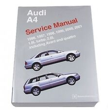 Audi A4 Avant Quattro 1996-2001 1.8L 2.8L Service Repair Manual Bentley