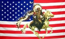 USA Indian Horse # 2 3x5 Feet Flag