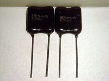 2 X Cdm Cornell Dubilier 15000pF 15nF 0.015uF 1000V +/-5% Silver Mica Capacitor