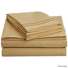 CLARA CLARK SUPREME 1500 COLLECTION DEEP POCKET 4 PIECE BED SHEET SETS